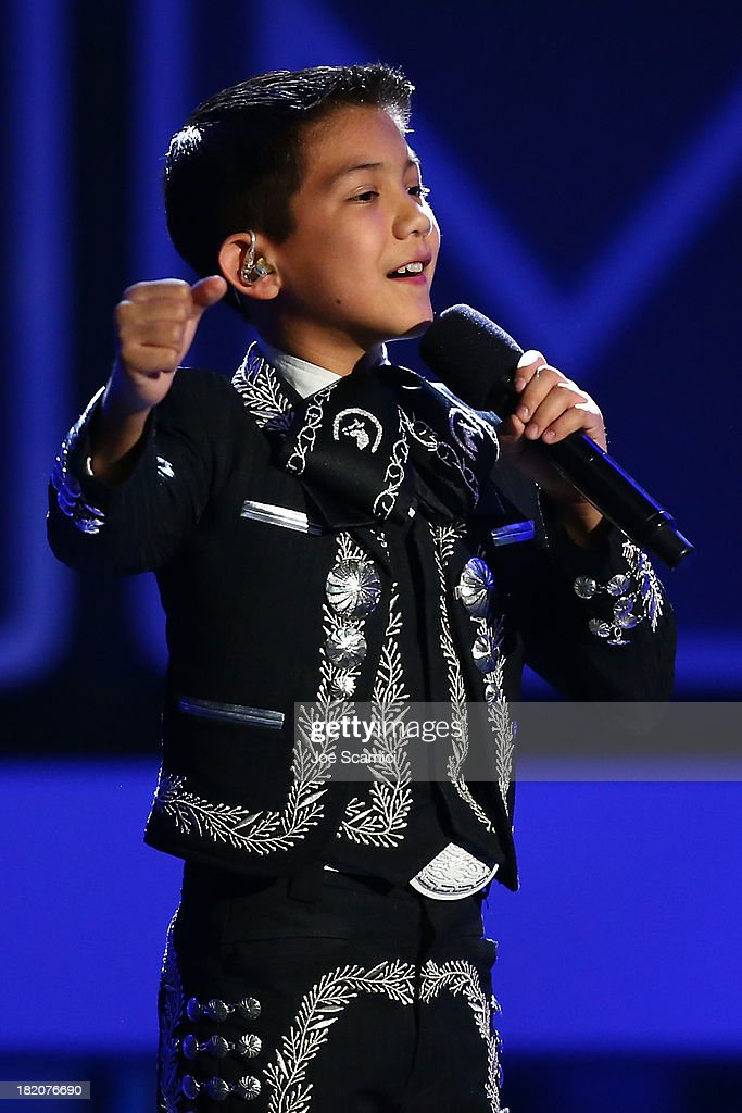 Singer Sebastien De La Cruz performs onstage during the show at the 2013 NCLA ALMA Awards at Pasadena Civic Auditorium on September 27, 2013 in Pasadena, California.