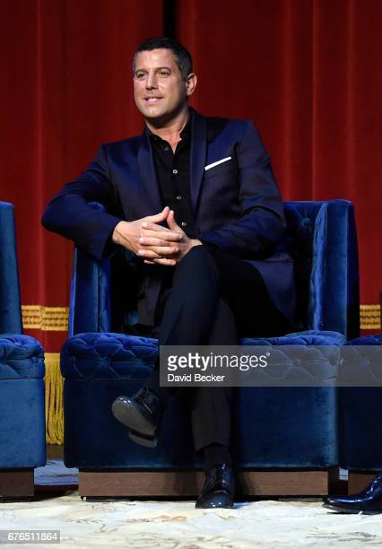 Singer Sebastien Izambard of Il Divo attends a news conference announcing the group's September sixshow headlining engagement 'Il Divo This is Your...