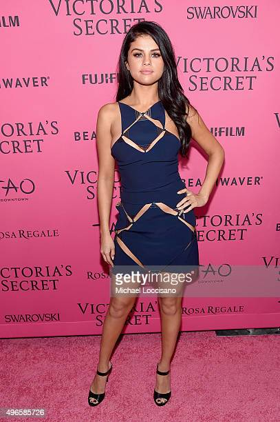 Singer Selena Gomez attends the 2015 Victoria's Secret Fashion After Party at TAO Downtown on November 10 2015 in New York City