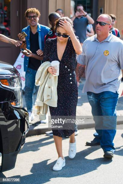 Singer Selena Gomez is seen in the West Village on September 5 2017 in New York City