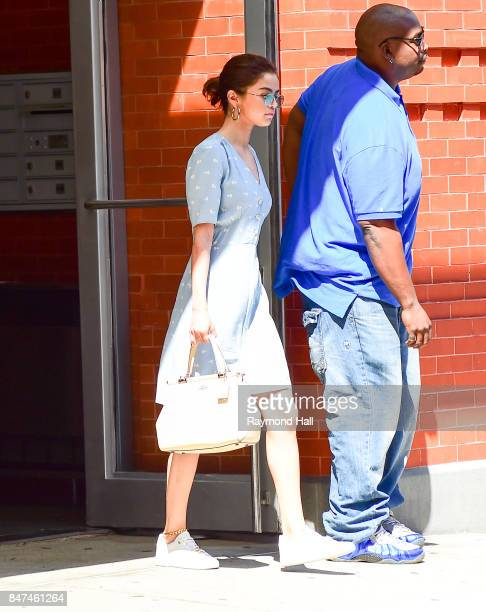 Singer Selena Gomez is seen waking in Soho on September 15 2017 in New York City