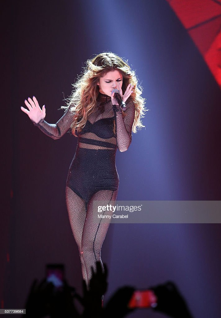 Selena Gomez In Concert - Newark, NJ | Getty Images