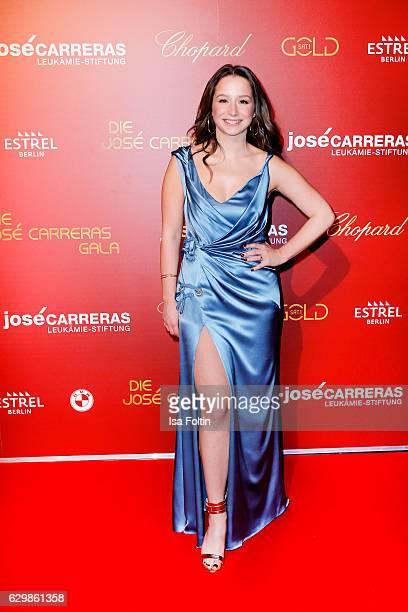 Singer Senta Sofia Delliponti attends the 22th Annual Jose Carreras Gala on December 14 2016 in Berlin Germany