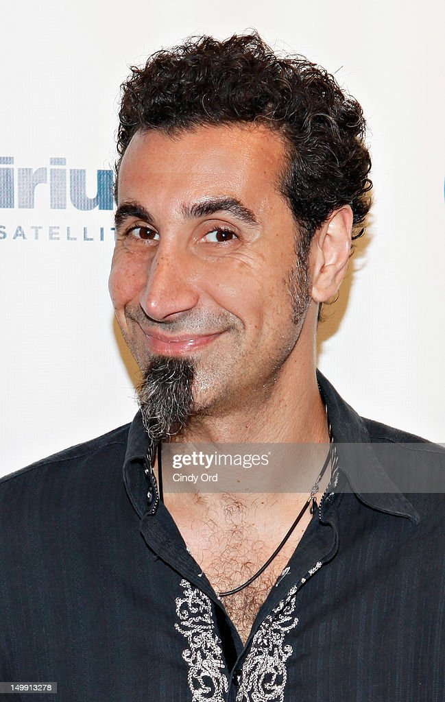 Singer Serj Tankian visits SiriusXM Studio on August 6, 2012 in New York City.