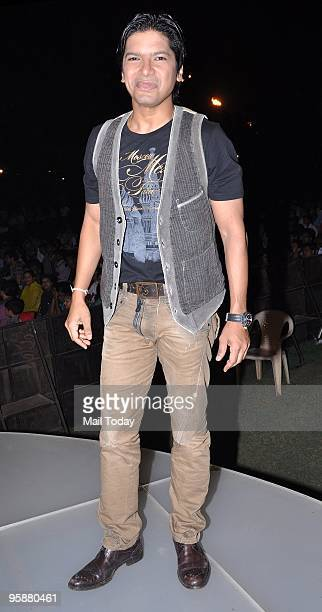 Singer Shaan at an event in Mumbai on Friday January 15 2010