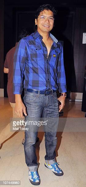 Singer Shaan at the music launch of the movie 'Toonpur Ka Superhero' at Novatel Juhu on December 8 2010