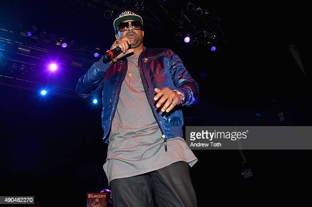 Singer Shaggy appears onstage during the AWXII kickoff concert on September 28 2015 in New York City