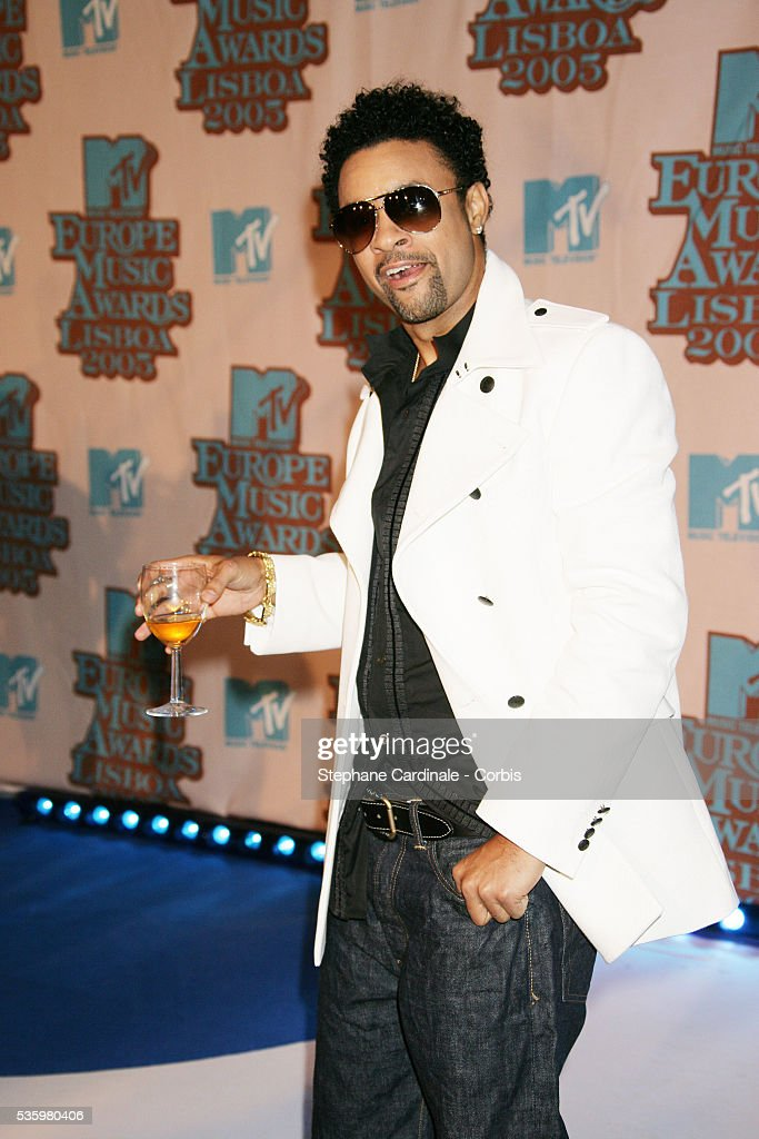 Singer Shaggy arrives at the 12th annual MTV Europe Music Awards 2005 held at the Atlantic Pavilion in Lisbon.