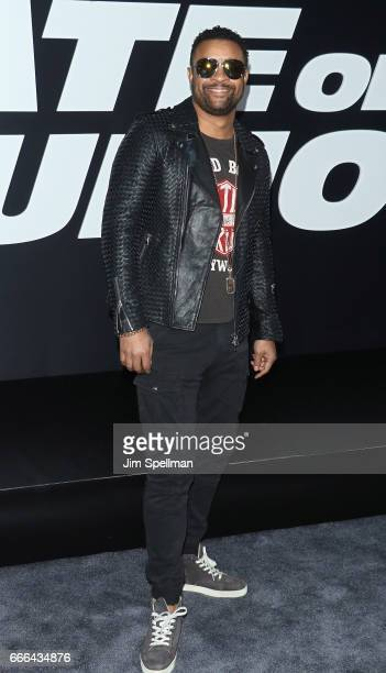 Singer Shaggy attends 'The Fate Of The Furious' New York premiere at Radio City Music Hall on April 8 2017 in New York City