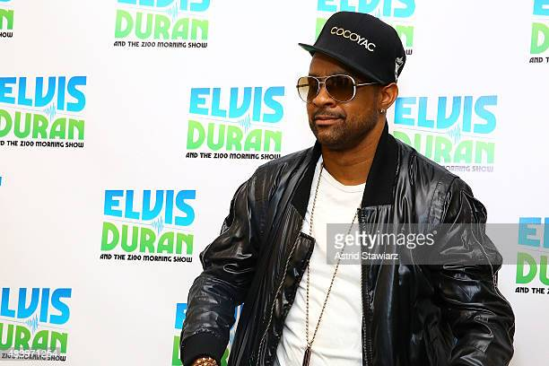 Singer Shaggy visits the 'The Elvis Duran Z100 Morning Show' to celebrate Elvis Duran's birthday at Z100 Studio on August 14 2015 in New York City
