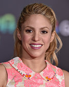 Singer Shakira arrives at the premiere of Walt Disney Animation Studios' 'Zootopia' at the El Capitan Theatre on February 17 2016 in Hollywood...