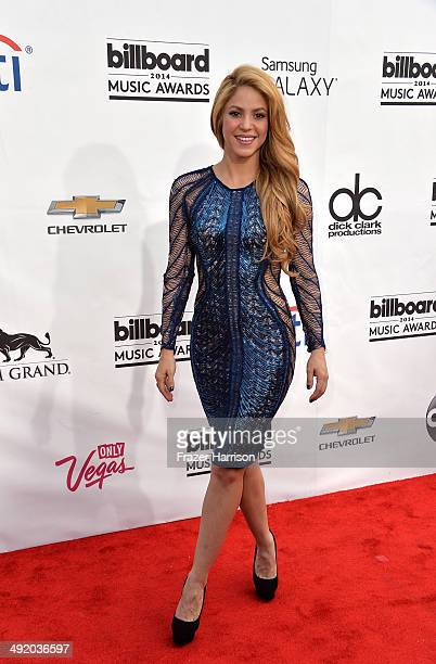 Singer Shakira attends the 2014 Billboard Music Awards at the MGM Grand Garden Arena on May 18 2014 in Las Vegas Nevada