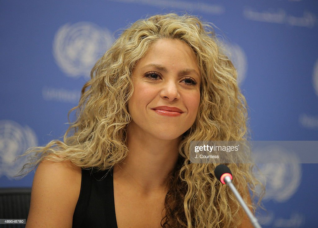 Shakira Attends A Meeting Of The Minds: Investing In Early Childhood Development As The Foundation For Sustainable Development