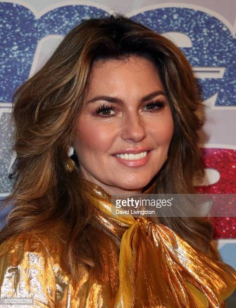 Singer Shania Twain attends NBC's 'America's Got Talent' season 12 finale at Dolby Theatre on September 20 2017 in Hollywood California