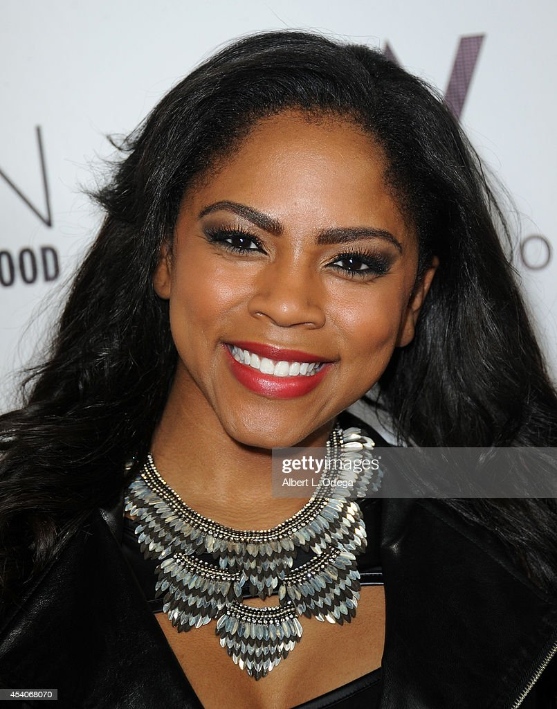 Singer Shanica Knowles arrives at W Hotel Station Club's Annual Emmy Party held at W Hollywood on August 23, 2014 in Hollywood, California.