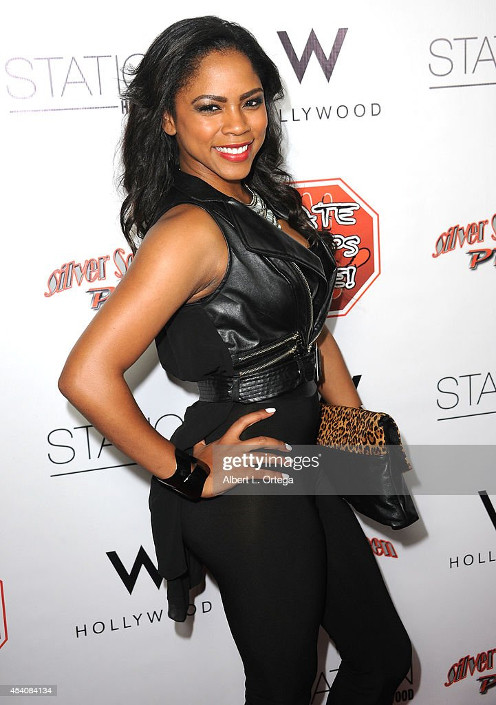 Singer <a gi-track='captionPersonalityLinkClicked' href=/galleries/search?phrase=Shanica+Knowles&family=editorial&specificpeople=4278770 ng-click='$event.stopPropagation()'>Shanica Knowles</a> arrives at W Hotel Station Club's Annual Emmy Party held at W Hollywood on August 23, 2014 in Hollywood, California.