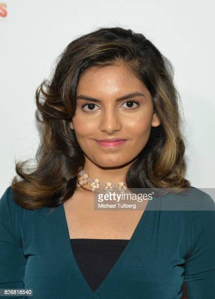 Singer Shannon K attends the Elite Awards ceremony charity gala for Jagrit at Renaissance Los Angeles Airport Hotel on August 5 2017 in Los Angeles...