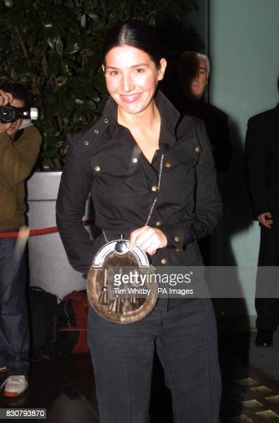 Singer Sharleen Spiteri from the group Texas arriving for a Burns Supper at the St Martins Lane Hotel London in aid of Sargent Cancer Care for...
