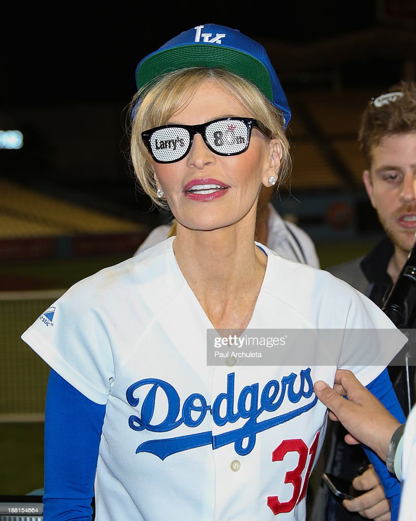 Singer Shawn King attends a surprise party for Larry King's 80th Birthday at Dodger Stadium on November 15, 2013 in Los Angeles, California.
