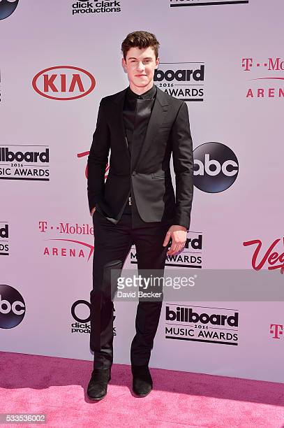 Singer Shawn Mendes attends the 2016 Billboard Music Awards at TMobile Arena on May 22 2016 in Las Vegas Nevada