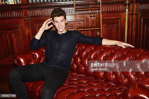 Singer Shawn Mendes is photographed for Billboard Magazine on July 8 2016 in New York City ON EMBARGO UNTIL DECEMBER 3 2016