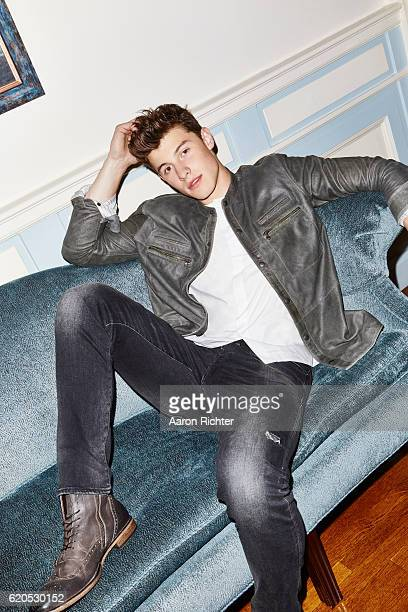 Singer Shawn Mendes is photographed for Billboard Magazine on July 8 2016 in New York City PUBLISHED IMAGE ON EMBARGO UNTIL DECEMBER 3 2016