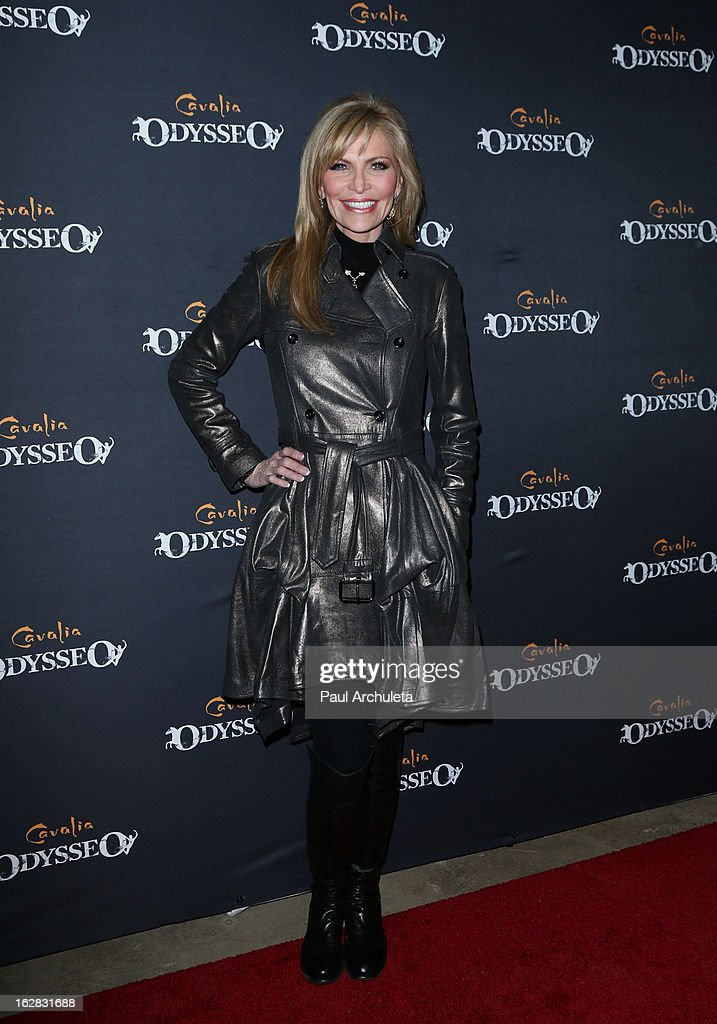 Singer Shawn Southwick attends the opening night for Cavalia's 'Odysseo' at the Cavalia's Odysseo Village on February 27, 2013 in Burbank, California.