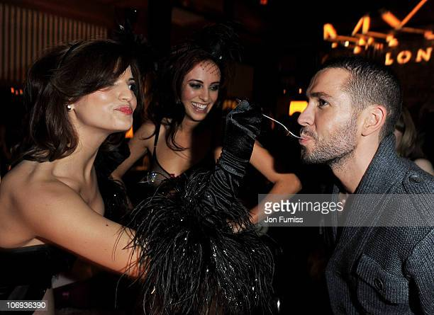 Singer Shayne Ward attends Myla's 10th Anniversary Party at Almada on November 17 2010 in London England