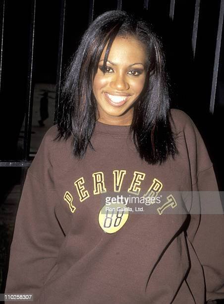 Singer Shaznay Lewis of the pop music group All Saints attends the Benefit Concert for the AntiGun Violence Organization PAX on August 26 1998 at The...