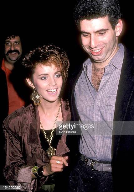 Singer Sheena Easton and husband Robert Light on October 28 1985 sighting at James Corcoran Gallery in Los Angeles California