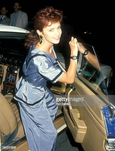 Singer Sheena Easton attends Norman Lear's Cocktail Party for Michael Dukakis Presidential Campaign on September 15 1989 at the Home of Normal Lear...
