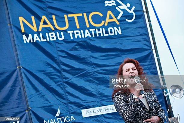 Singer Sheena Easton attends the 2011 Nautica Malibu Triathlon Sponsored by Herbalife on September 18 2011 in Malibu California