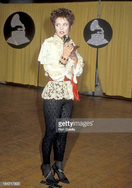 Singer Sheena Easton attends the 27th Annual Grammy Awards on February 26 1985 at Shrine Auditorium in Los Angeles California