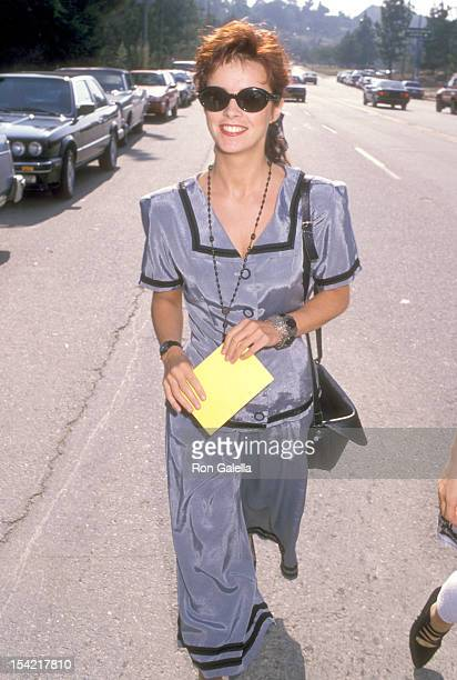 Singer Sheena Easton attends the Don Henley's Fundraiser Party for Los Angeles City Council Nominee Lisa Specht on September 24 1988 at the Home of...