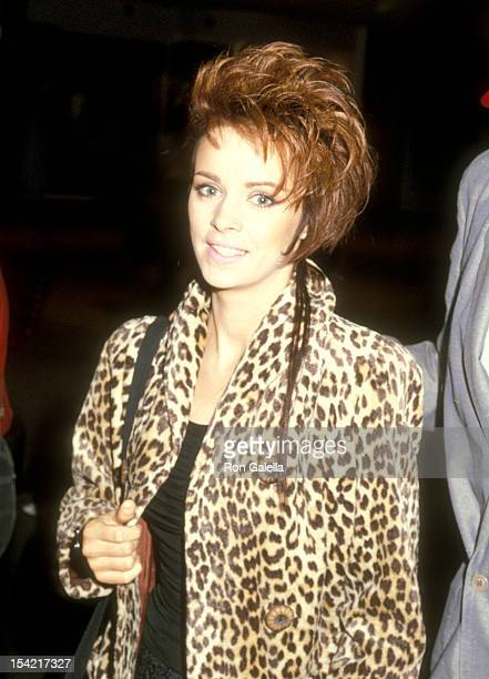 Singer Sheena Easton attends the 'Out of Africa' Century City Premiere on December 10 1985 at Plitt's Century Plaza Theatres in Century City...