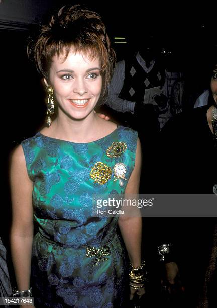 Singer Sheena Easton attends the 'Ruthless People' Century City Premiere on June 24 1986 in Century City California