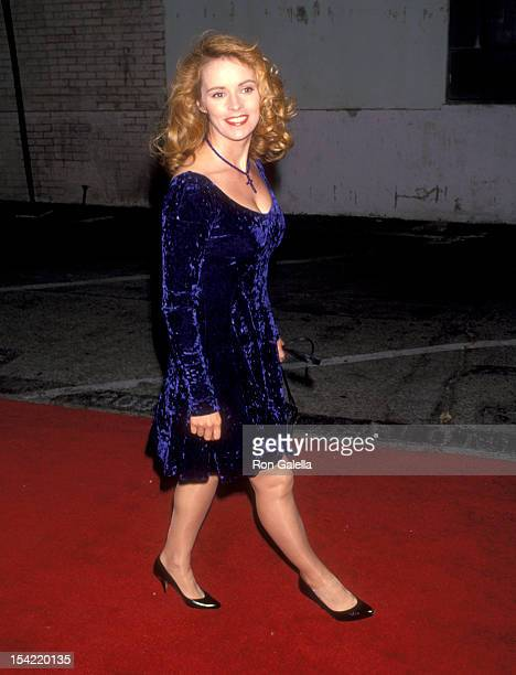 Singer Sheena Easton attends the Third Annual Environmental Media Awards on September 27 1993 at 20th Century Fox Studios in Century City California