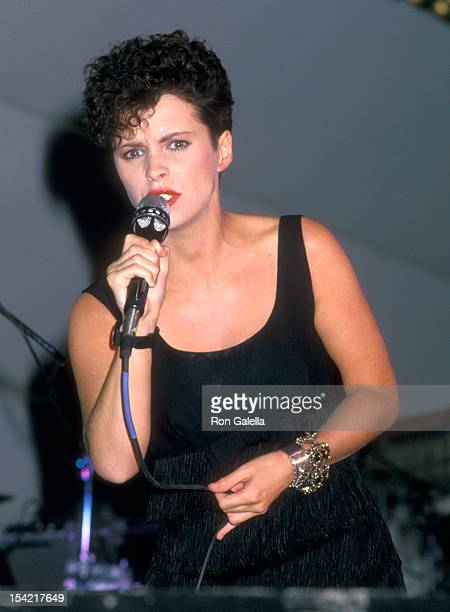 Singer Sheena Easton attends the Third Annual People for the American Way Dinner/Dance Gala on November 12 1987 at Roseland in New York City