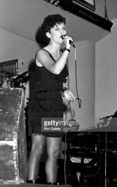 Singer Sheena Easton attends Third Annual People for the American Way Benefit on November 12 1987 at the Roseland Ballroom in New York City