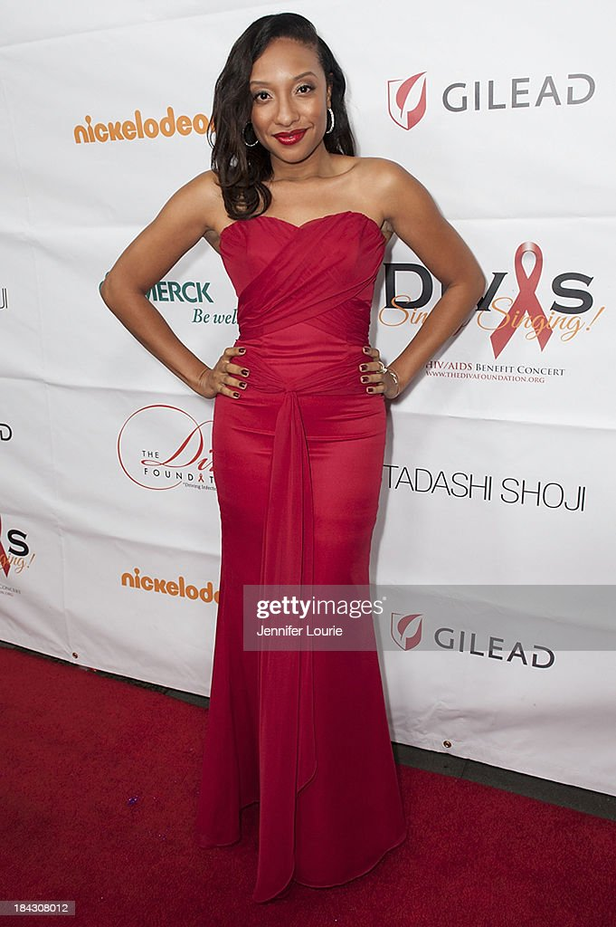 Singer Shelea Frazier attends the 23rd Annual HIV/AIDS benefit concert DIVAS Simply Singing! at Club Nokia on October 12, 2013 in Los Angeles, California.