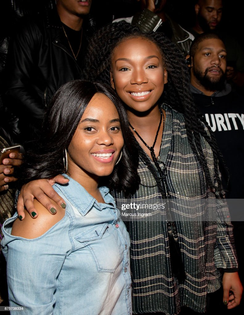 Brandy Hosts Party With A Purpose