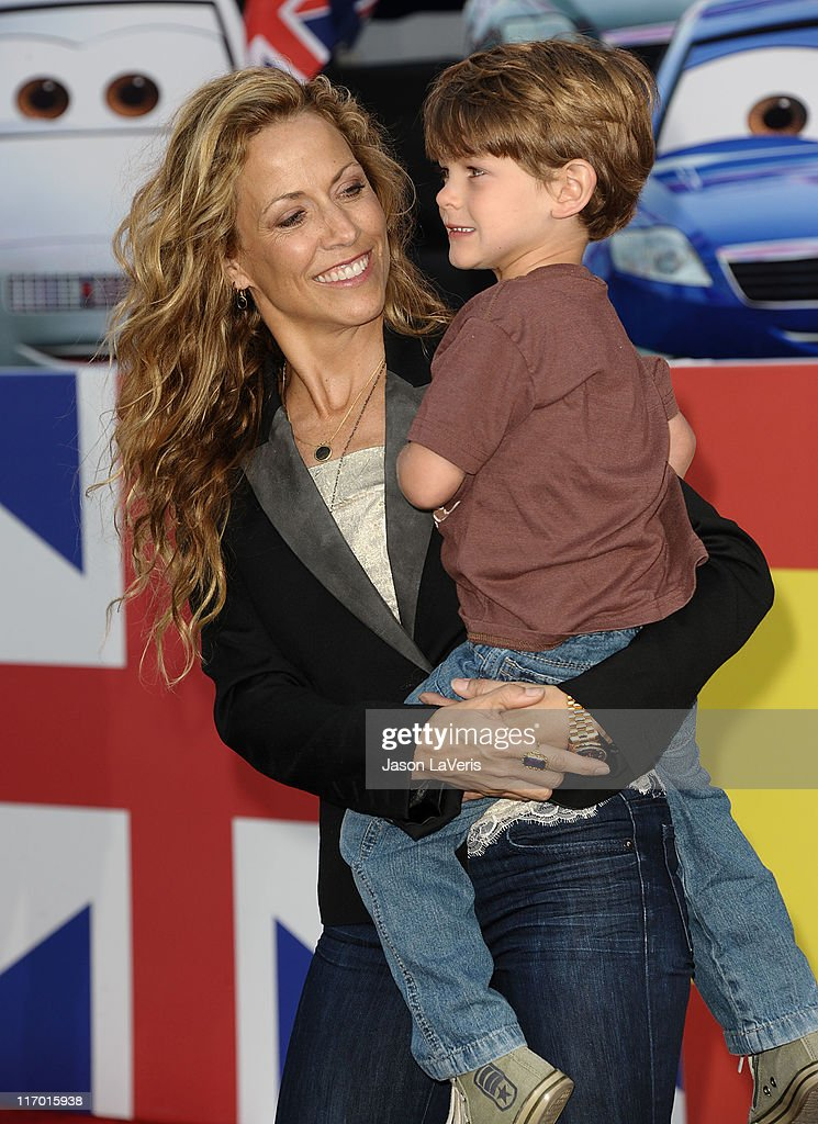 Singer <a gi-track='captionPersonalityLinkClicked' href=/galleries/search?phrase=Sheryl+Crow&family=editorial&specificpeople=201867 ng-click='$event.stopPropagation()'>Sheryl Crow</a> and son Wyatt Crow attend the premiere of Disney/Pixar's 'Cars 2' at the El Capitan Theatre on June 18, 2011 in Hollywood, California.