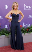 Singer Sheryl Crow arrives at the 48th Annual Academy Of Country Music Awards at MGM Grand Garden Arena on April 7 2013 in Las Vegas Nevada