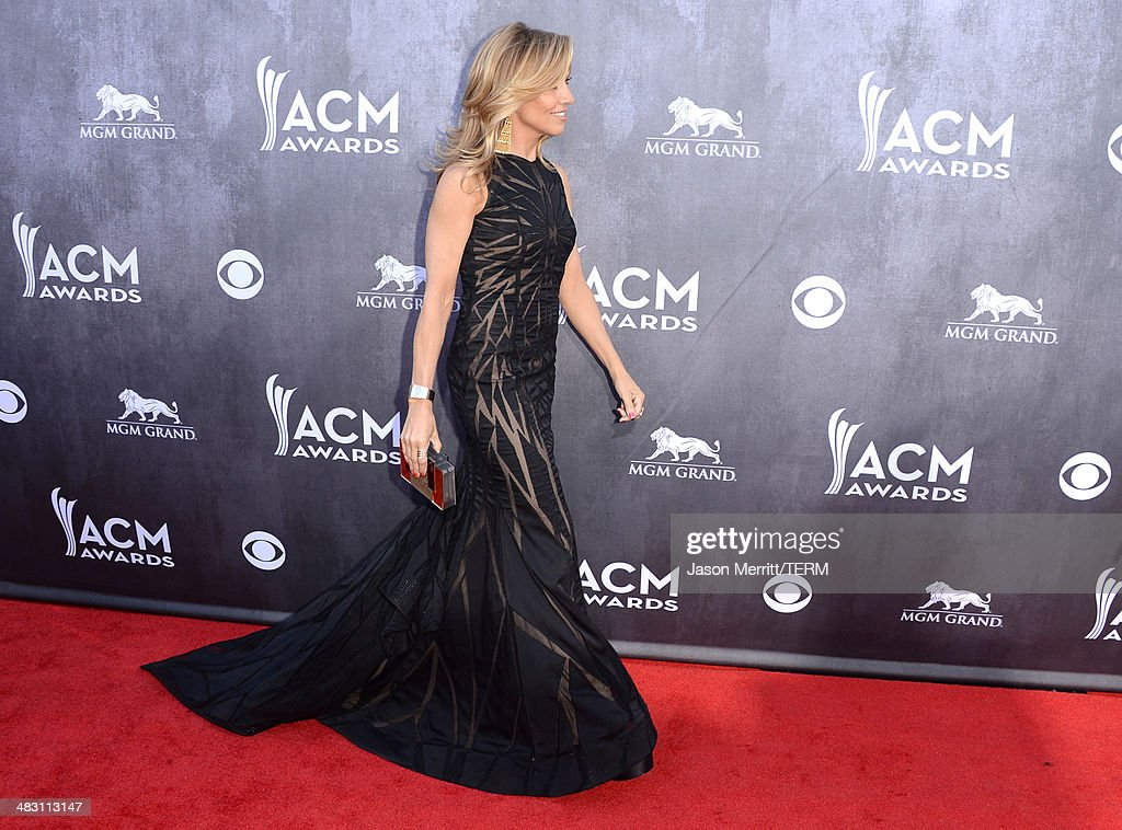Singer Sheryl Crow attends the 49th Annual Academy Of Country Music Awards at the MGM Grand Garden Arena on April 6, 2014 in Las Vegas, Nevada.