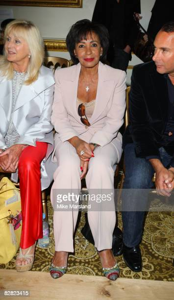 Singer Shirley Bassey attends the Julien MacDonald fashion show at Lancaster House during London Fashion Week Spring/Summer 2009 on September 15 2008...