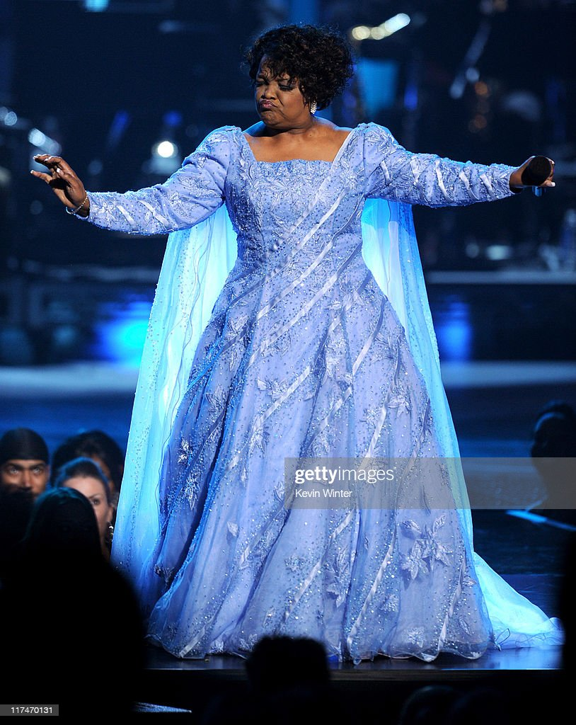 Singer Shirley Ceasar performs onstage during the BET Awards '11 held at the Shrine Auditorium on June 26, 2011 in Los Angeles, California.