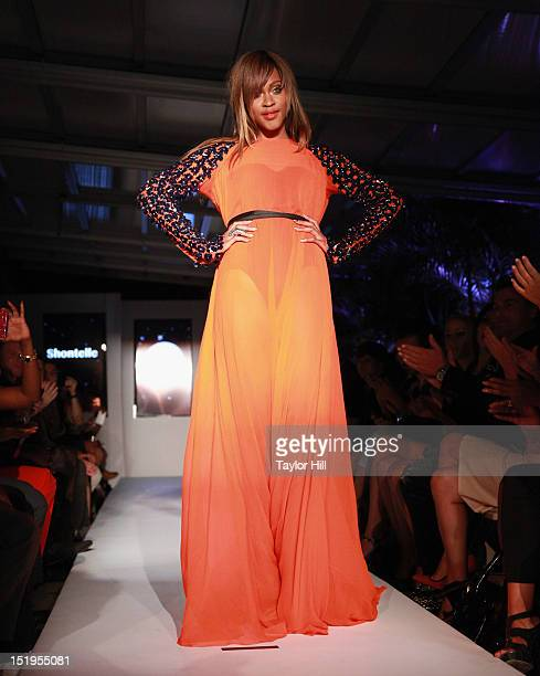 Singer Shontelle attends 'Real Fashion Real Women' Runway Show Benefiting Bottomless Closetat Empire Hotel on September 12 2012 in New York City