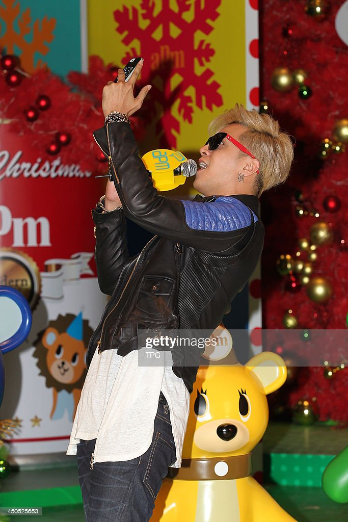 Singer Show Lo holds signing session on Monday November 18,2013 in Hong Kong,China.