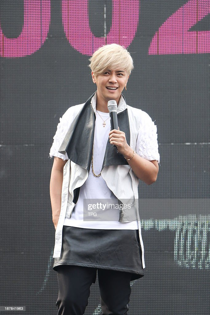 Singer Show Lo holds signing session on Sunday November 10,2013 in Taipei,China.