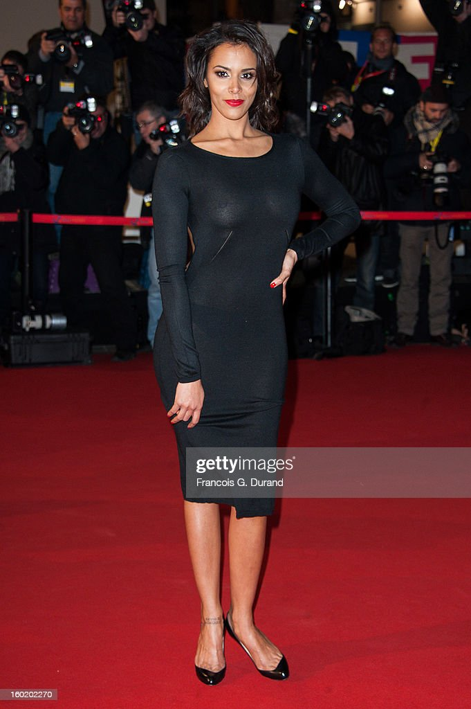 Singer Shy'm attends the NRJ Music Awards 2013 at Palais des Festivals on January 26, 2013 in Cannes, France.